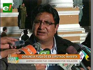 Barral responsabiliza a diputados oficialista y policía por la fuga de ex diputado Leaño