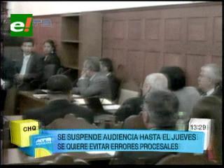 TSJ suspende audiencia del caso Misiles Chinos hasta el 5 de septiembre