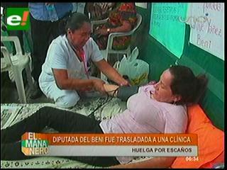 Diputada Lavive Yañez levanta huelga de hambre