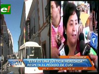 Ayllón: Tenemos una justicia heredada