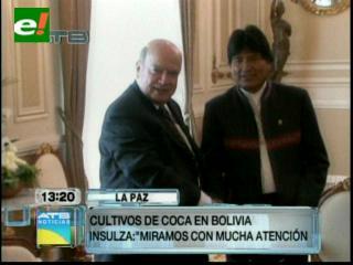 """OEA mirará con """"mucha atención"""" el tema de la coca en Bolivia"""