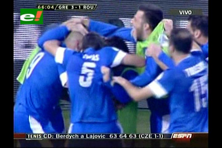 Mitroglou marca el camino a Brasil