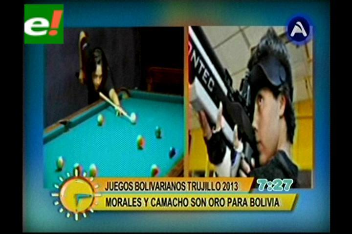 Oro para Morales y Camacho