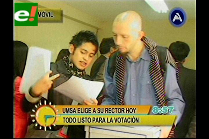 73.620 habilitados elegirán al rector número 67 de la UMSA