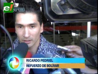 Ricardo Pedriel es el primer refuerzo de Bolívar 2014