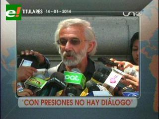 Titulares: Alcaldía no dialogará con choferes bajo medidas de presión