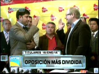 Titulares: División en la oposición por la designación de jefes de bancadas