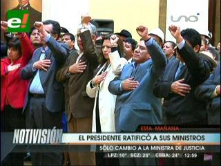 Presidente cambia a la ministra de Justicia y elige a Tito Montaño para Deportes