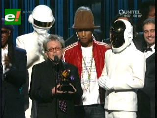 Grammy 2014: Daft Punk se llevó el premio más importante de la noche