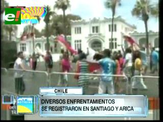 Enfrentamientos en Chile tras fallo de Corte de La Haya favorable a Perú