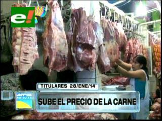 Titulares: Sube el precio de la carne de res