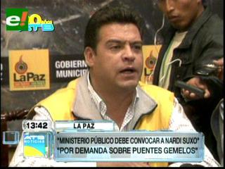 """Alcaldía califica de """"especulaciones"""" las denuncias de Suxo sobre proyecto """"Puente Gemelo"""""""
