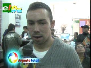 Damián Lizio ya es boliviano