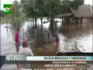 Salud desplaza brigadas médicas a Beni, Cochabamba y La Paz