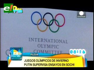 Putin: Rusia está lista para los Juegos de Sochi