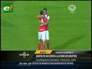 Santa Fe eliminó al Morelia y avanzó a fase de grupos de Libertadores