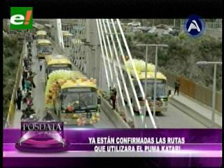 Puma Katari operarán en siete rutas de La Paz