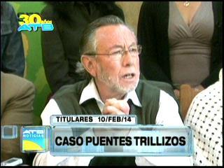 Titulares: Convocan a Juan Del Granado para declarar por el caso Puentes Trillizos