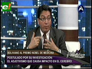 John Paz Soldán quiere ganar el Premio Nobel de Medicina