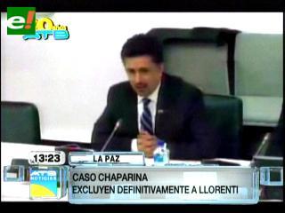 Sacha Llorenti es excluido del caso Chaparina por el Ministerio Público
