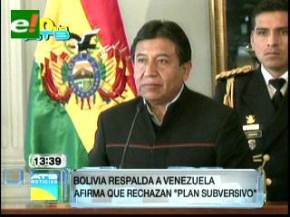 Gobierno: Lo que sucede en Venezuela son aventuras golpistas