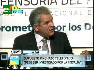 Villena dice que grabación de llamadas vulnera derecho a la privacidad y pide investigación