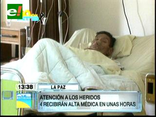 Dan de alta a 54 personas heridas por la caída de un puente en Oruro