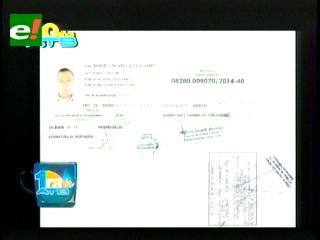 Documentos prueban que Soza huyó a Brasil