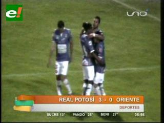 Real es líder del Clausura por goles