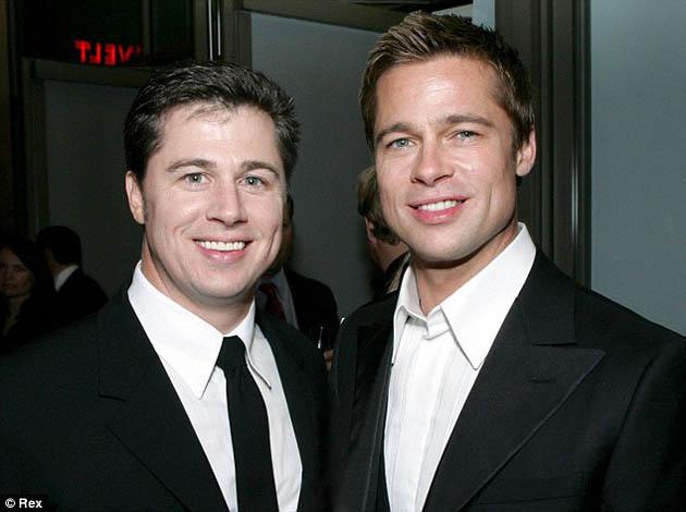 El hermano de Brad Pitt, estrella de publicidad en Australia