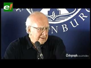 """Peter Higgs: """"No tengo idea"""" para qué sirve el bosón de Higgs"""
