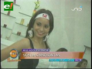 Inicia oficialmente Miss Adolescencia Bolivia 2012