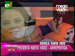 """Guísela Santa Cruz presenta nuevo video """"Arrepentida"""""""