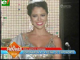Mariana Crespo coronada como Reina de Exponorte Dinámica 2013