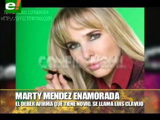 Marthy Méndez, nuevamente enamorada y casada