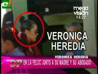 Verónica Heredia demanda a su ex pareja