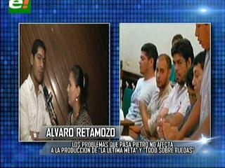 """Álvaro Retamozo: """"Pietro sigue siendo mi socio"""""""