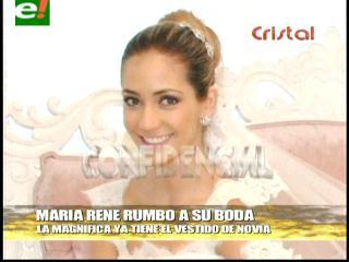 María René Antelo se casa, pero no dejará el modelaje