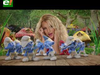 Britney Spears te hace bailar con Los Pitufos 2