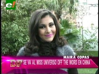 Mayra Copas Sadud rumbo a concurso internacional