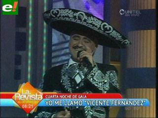 Yo me llamo: Vicente Fernández