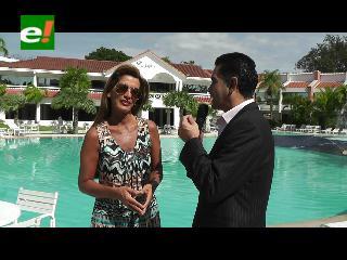 Sandra Coscío: «Bolivia inaugura nuevo ciclo de reality show de Ismael Cala»