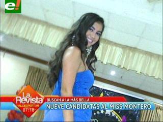 Se viene la elección de Miss Montero 2013