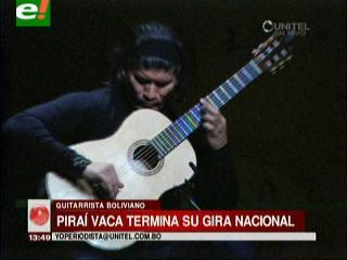 Piraí Vaca dio nuevamente un show impecable