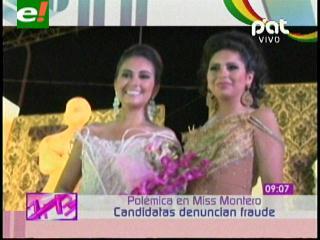 Denuncian supuesto fraude en la elección de Miss Montero 2013