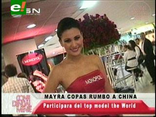 Mayra Copas se prepara para el Miss Model of the World 2013