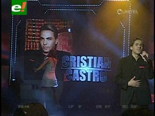 Yo me llamo: Cristian Castro