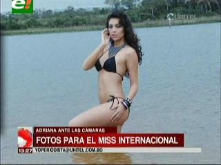 Adriana Delgadillo lista para el Miss International 2013