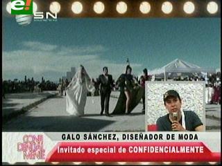 Galo Sánchez puso de moda a Potosí