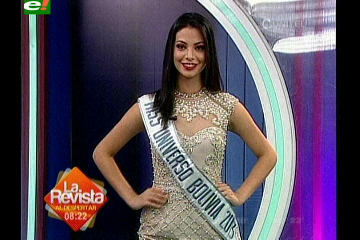 Alexia Viruez cuenta su experiencia en el Miss Universo 2013